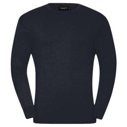 Crew neck knitted pullover Thumbnail
