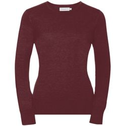 Women's crew neck knitted pullover Thumbnail
