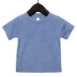 Baby triblend short sleeve tee Thumbnail