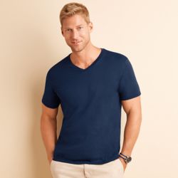 Unisex Softstyle® V-neck T-shirt Thumbnail