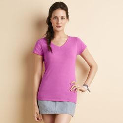 Softstyle® Ladies V-neck T-shirt Thumbnail