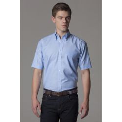 Men Workplace Oxford Short Sleeved Shirt  Thumbnail